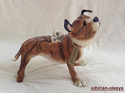 Country Artists a Breed Apart Dog / Dog Called Petal № 04645 Rare figurine