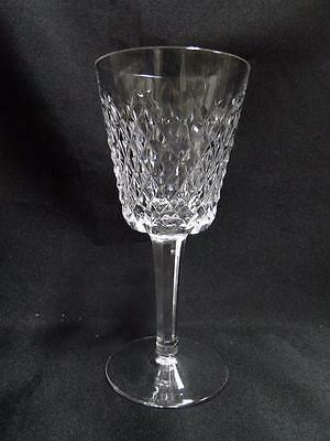 """Waterford Crystal Alana, Cut Cross Hatch: White Wine (s), 5 5/8"""" Tall"""