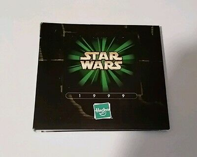 Rare 1999 hasbro Star Wars Catalog w/ CD Over 100 Pages