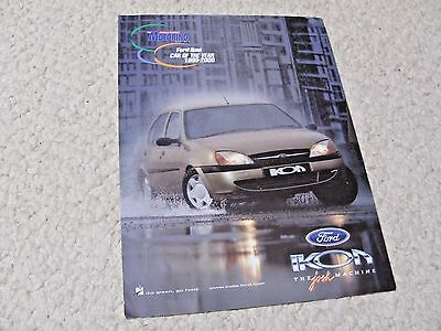 1999 Ford Ikon (India) Sales Brochure.