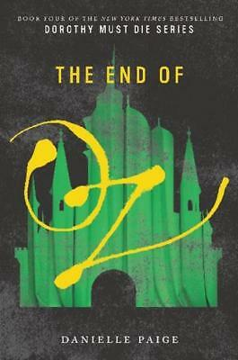 NEW The End of Oz By Danielle Paige Paperback Free Shipping