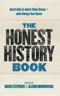 NEW The Honest History Book By David Stephens Paperback Free Shipping