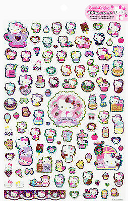 Sanrio Hello Kitty 100 Holographic Stickers (2014)