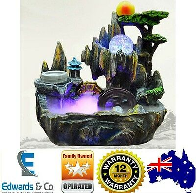 Indoor Water Fountain Feature Spa Ornament With Health Benefits Home Decor