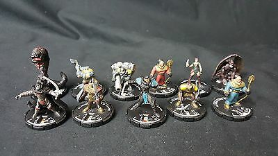 (#MK127) Mage Knight Mix lot of 11 Miniatures