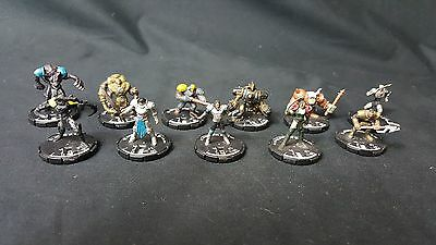 (#MK129) Mage Knight Mix lot of 11 Miniatures