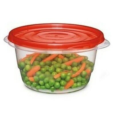 Rubbermaid TakeAlongs 3.2-Cup Round Food Container 4-Pack