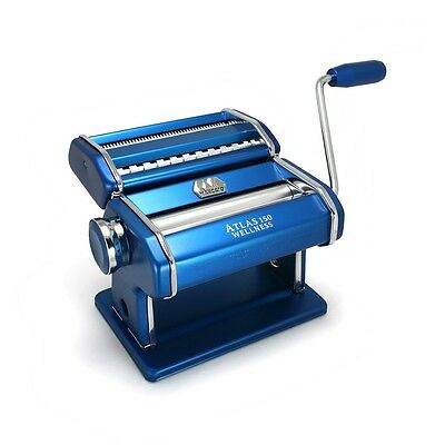 Marcato Atlas 150mm Wellness Pasta Maker Blue