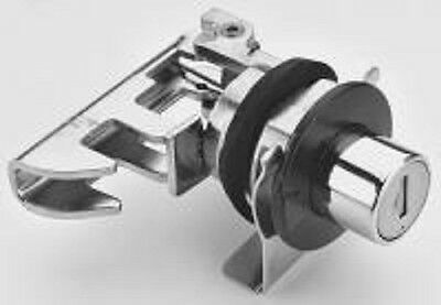 NEW Single Point Push Button Slam Latch + gasket + mounting clip - Eberhard