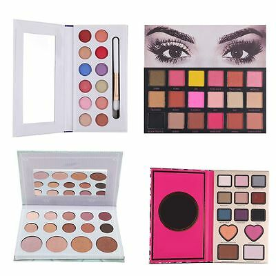 18 Colors Eyeshadow Textured Pallete Faced Matte Make up Eye Shadow Palette New