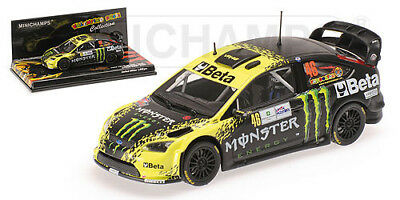 Minichamps 1/43 Ford Focus RS WRC #46 Monza Rally (2009) - Rossi / Cassina