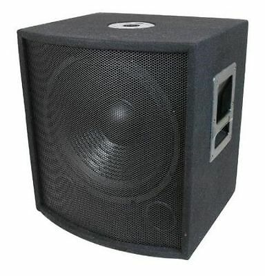 MCM 555-10325 DJ / PA 18 In Speaker Subwoofer 1000W  Heavy Duty Pole Mountable