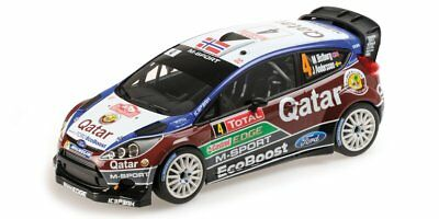 Minichamps 1/18 Ford Fiesta RS WRC #4 Rally Monte Carlo (2013) - Ostberg / Ander