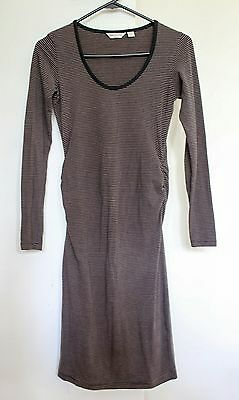 Ripe Maternity Fitted Cocoon Tube Dress Size XS **excellent condition**