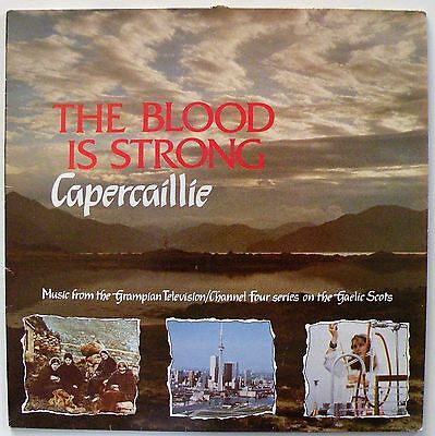 CAPERCAILLIE 'The Blood Is Strong' (GPN1001) Vinyl LP Album. UK 1988 - VG+/VG+