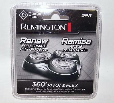 GENUINE Remington SPR Titanium 360 PIVOT & FLEX Replacement Shaving Heads -NEW
