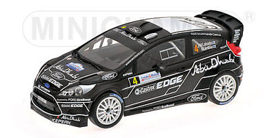 Minichamps 1/18 Ford Fiesta RS WRC #4 Rally France (2011) - Latvala / Anttila