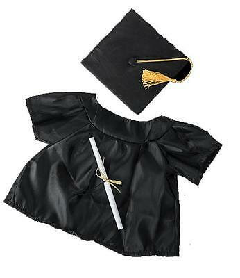 "Graduation Gown Teddy Clothes Fits 15""-16"" (40Cm) Teddies & Build Your Own Bear"