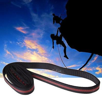 22KN (2200KG) 60cm Rock Climbing Hiking Sling Bearing Strap Reinforce Rope