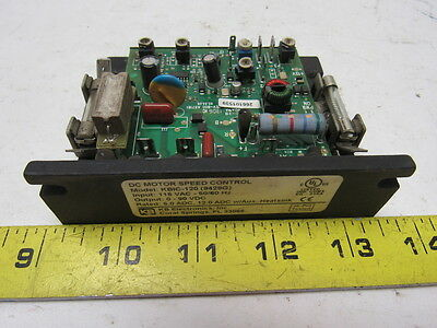 KB Electronics KBIC-120 (9429G) DC Motor Speed Control In 115Vac Out 0-90Vdc
