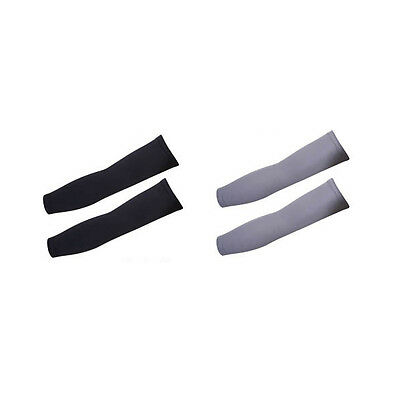 Unisex Cooling UV Protection Arm Sleeve Cycling Driving Hiking Running Sports