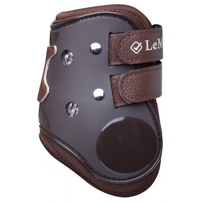 LEMIEUX TENZION FETLOCK BOOT BROWN touch fastener competition horse boots
