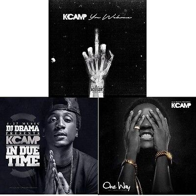 """K CAMP 3 CD Set- """"Your Welcome"""" """"One Way"""" & """"In Due Time"""" (OFFICIAL MIXTAPES)."""