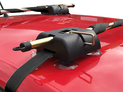 PortaRack Roof Rack - Ideal for Kayaks - 36mmx5m Straps - No Bars Needed - Riber