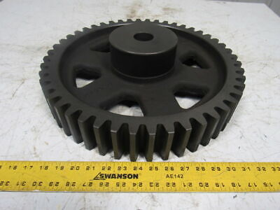 Martin C348 Cast Iron Spur Gear 14.5 Pressure Angle 48 Tooth W/lightened Holes