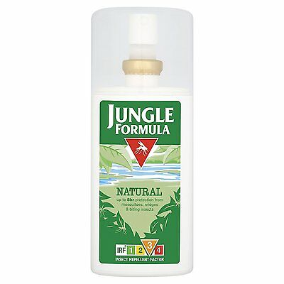 Jungle Formula Natural Insect Mosquito Repellent SPRAY IRF3 90ml