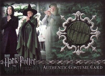 Harry Potter Goblet of Fire Update Minerva McGonagall's C3 Costume Card