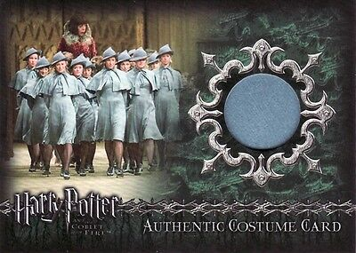 Harry Potter Goblet of Fire Beauxbatons students C7 Costume Card b