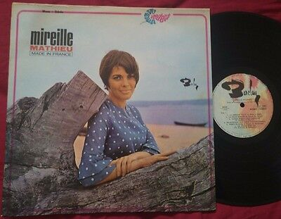 MIREILLE MATHIEU - Made in France ORIG ISRAEL PRESS LP DIFFERENT PS COVER