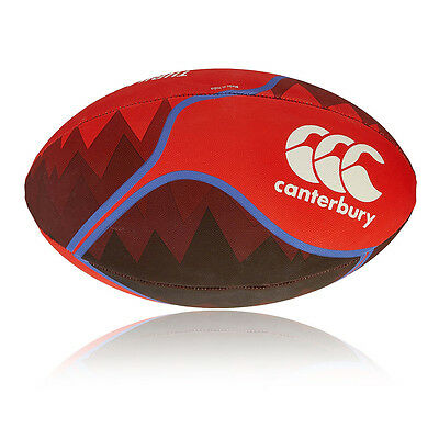 Canterbury Thrillseeker Unisex Red Athletic Training Sports Rugby Ball