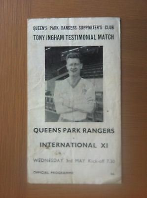 Queens Park Rangers V International Xi 1966-67
