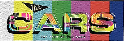 The Cars The Best of the Cars Large  Promo Sticker