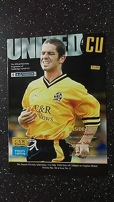Cambridge United V Leyton Orient 1999-00