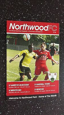 Northwood V Brentford 2011-12