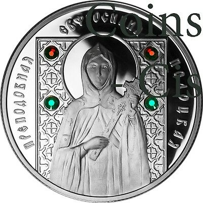 Belarus 2008 10 rubles St Euphrosyne of Polotsk Proof Silver Coin