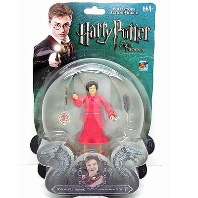RARE New Harry Potter And the Order of The Phoenix Figure Dolores Umbridge M63