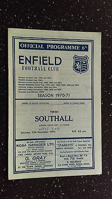 Enfield V Southall 1970-71