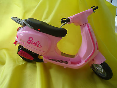 BARBIE - MOTOR BIKE SCOOTER for toy doll  - BRIGHT PINK!
