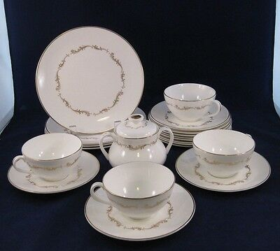 Royal Doulton FRENCH PROVINCIAL Service for 4 w/ XTRAS Bone China 24pcs. - MINT