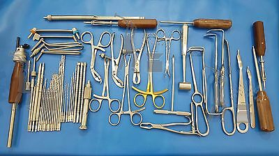 Orthopedic Bone Implant Surgery Surgical Instruments Set 58 Pieces Free Shipping