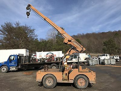 Case 85 Drott Carrydeck 5 Ton Crane; Just In;  Runs And Operates