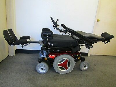 Permobil M300 Wheelchair With Power Tilt, Recline,legs, 41 Miles Only.