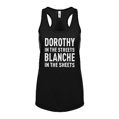 Racerback Dorothy in the Streets Womens Racer back Tank Top #3080