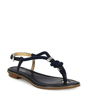 63122976a165 Michael Kors Holly Admiral Blue Rope Leather Sandal Women s sizes 6-11 NEW