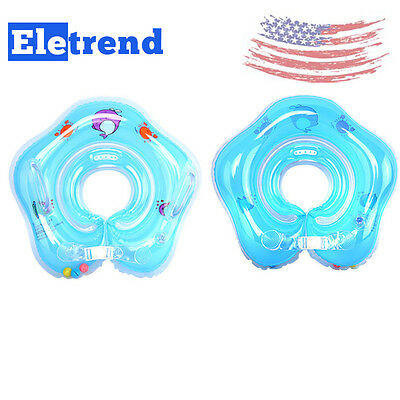 Newborn Baby Infant Child Swimming Neck Float Inflatable Ring Safety Top Quality