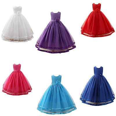 Girls Formal/ Bridesmaid/ Prom/ Wedding/ / communion dress/Flower girl dress